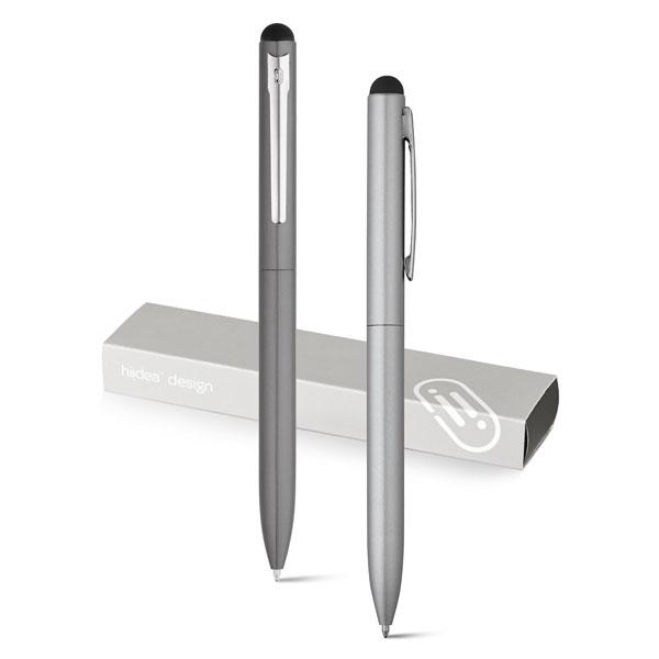 WASS Touch. Bolígrafo de aluminio con mecanismo twist