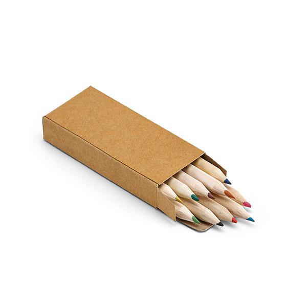 Caja con 10 lápices de color