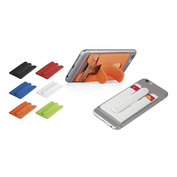 Porta tarjetas para smartphone