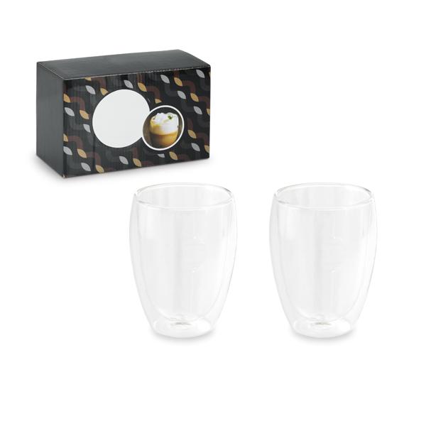 Conjunto de 2 vasos