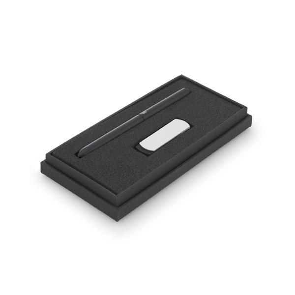 Set de bolígrafo y memoria USB, 4GB